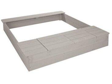 120 cm rechteckiger Sandkasten