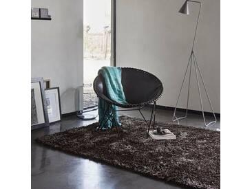 Handgetufteter Teppich New Glamour in Braun