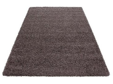 Shaggy-Teppich Candance in Taupe