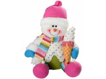 Dekorationsfigur Weihnachtsmann Cupcak