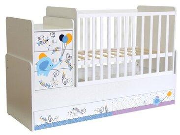 Babybett Simple mit Schaukelfunktion