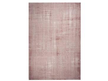Handgefertigter Teppich Grunge in Hellrosa