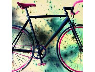 Leinwandbild Space Bike-Reverse, Grafikdruck