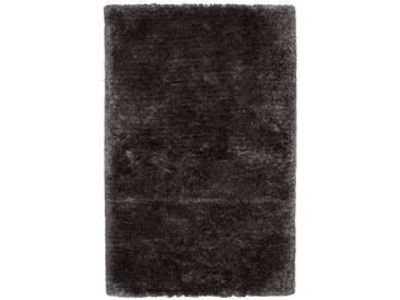 Handgefertigter Teppich Ecuador Macas in Schwarz