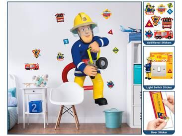 Wandtattoo Feuerwehrmann Sam