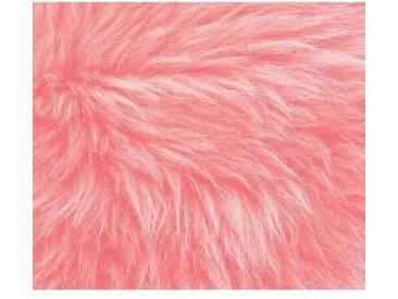 Teppich aus Schaffell in Pink
