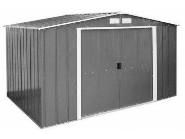 322,1 cm x 242,2 cm Gerätehaus Eco aus Metall