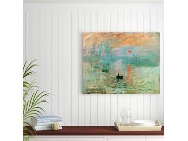 Leinwandbild Impression von Claude Monet