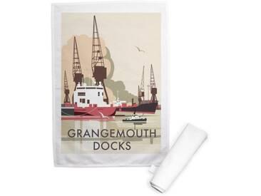 Geschirrtuch Grangemouth Docks, Scotland