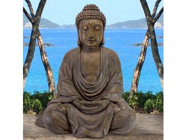Statue Meditierender Buddha des großen Tempels