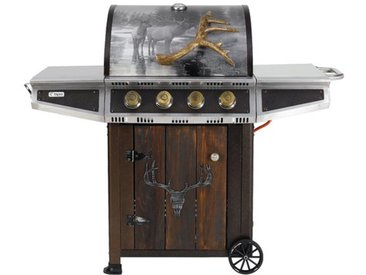 62 cm Hunter Valley Gasgrill mit 4 Brennern