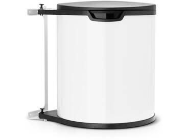 15 L Schwingdeckel-Mülleimer aus Kunststoff