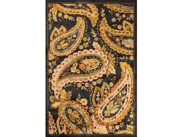 Teppich Vintage Nouveau B002 in Dunkelblau