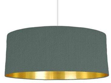 20 cm x 30 cm H Trommelförmiger Lampenschirm aus Baumwolle