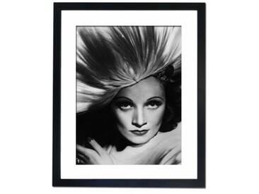 Gerahmter Fotodruck Marlene Dietrich