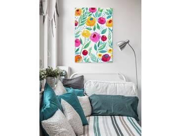 Leinwandbild Watercolour Flower von Jill Lambert