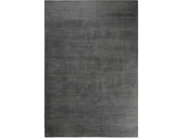 Handgefertigter Teppich Loft in Dunkelgrau