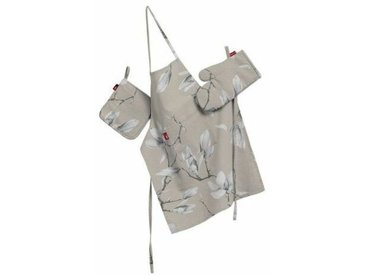 3-tlg. Küchen-Set Flowers / Luna aus Baumwolle / Polyester