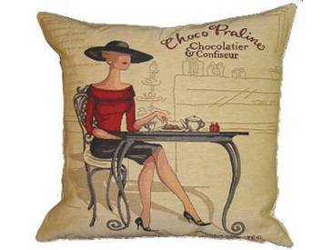Kissenbezug Choco Praline von A.Laliberté