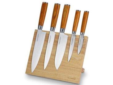6-tlg. Messerset mit Aufbewahrung