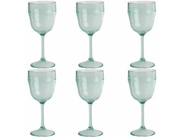 Weingläser-Set aus Kunststoff