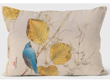Dekokissen Mary Evans Warbler and Autumn Leaves
