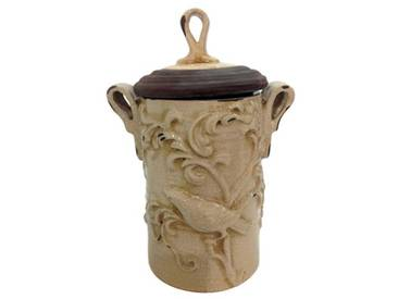 Vase Gifts and Accessories Gustavian Crackle Glaze