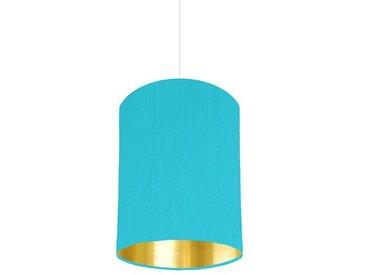 15 cm x 25 cm H Trommelförmiger Lampenschirm aus Baumwolle