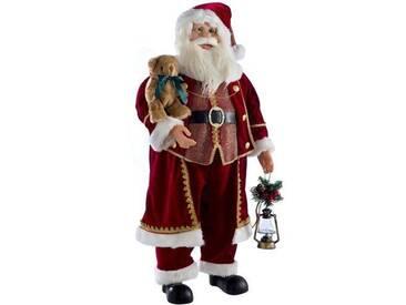 Dekorationsfigur Stehender Weihnachtsmann