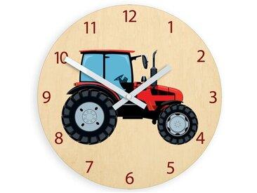 Analoge Wanduhr Traktor Bernadine 33 cm