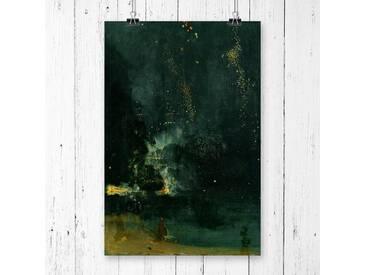 Poster The Falling Rocket von James Abbott McNeill Whistler