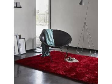 Handgetufteter Teppich New Glamour in Rot