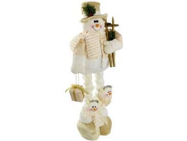 Dekorationsfigur Weihnachtlicher Schneemann