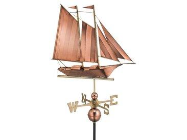 Segelschiff Wetterfahne Broomsedge