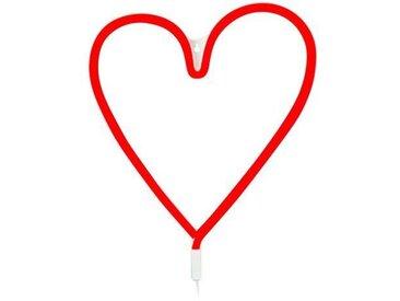 Lichtschlauch 120-flammig Vegas Heart in Rot