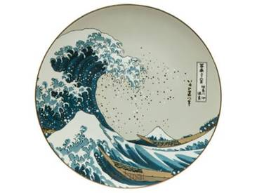 Wanddekoration Die Welle