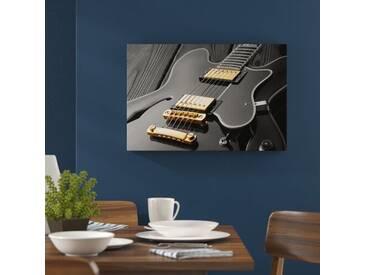 """Leinwandbild """"Elegante E-Gitarre, Grafikdruck"""