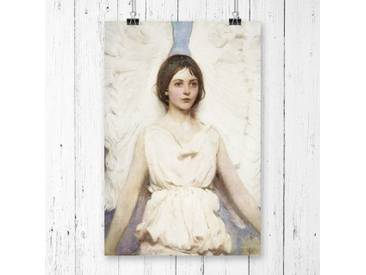 """Poster """"Angel"""" von Abbott Handerson Thayer, Kunstdruck"""