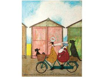 Poster There May Be Better Ways to Spend an Afternoon von Sam Toft