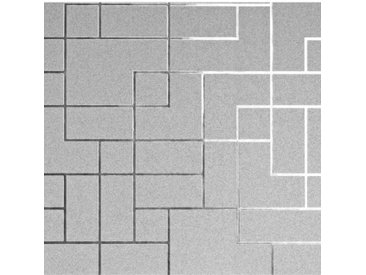 Tapete Platinum Square Geo 10,05 m x 53 cm