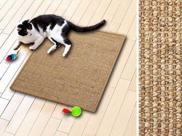 Sisal Kratzmatten für Katzen Kork 50x50 cm