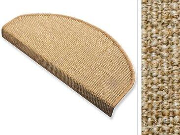 Sisal-Stufenmatten | Sylt kork | Treppenschutz in vielen Farben