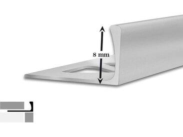 Fliesen-Profil | L-Form | 5 Stück | 8 mm hoch | 2,5 m lang