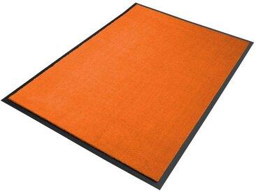 Fußmatte Meterware orange | Premium Schmutzmatte in tollen