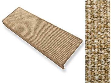 Sisal-Stufenmatten | Kork | rechteckig | 2 Varianten