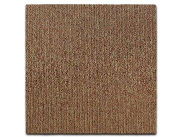 Teppichfliesen Kairo | 50x50 cm | Beige | Schlinge | Bodenfliesen