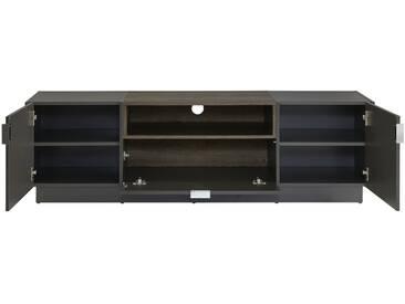 TV-Unterteil - grau - 160 cm - 48 cm - 40 cm - Sconto