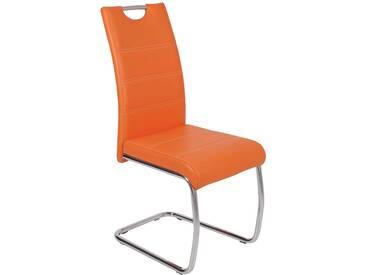 Schwingstuhl - orange - 42 cm - 98 cm - 57 cm - Sconto