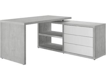 Eckschreibtisch - grau - 150 cm - 74 cm - 140 cm - Sconto