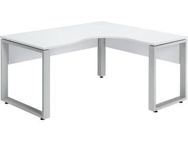 Schreibtisch-Winkelkombination - weiß - 160 cm - 75 cm - 140 cm - Sconto